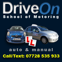 Driving Lessons in Slough with Drive On School of Motoring