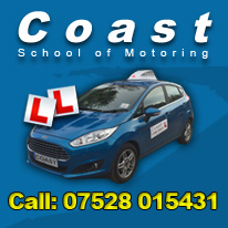 Driving Lessons in Swanage with Coast School of Motoring