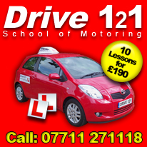 Driving Lessons in Welwyn Garden City with Drive 121 School of Motoring