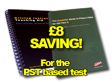 Driving Instructor Teaching Aid & Phase 2 Q&A Guide
